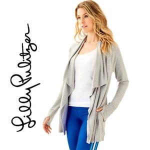 Lilly Pulitzer Elyssa Wrap Cardigan Sweater Top